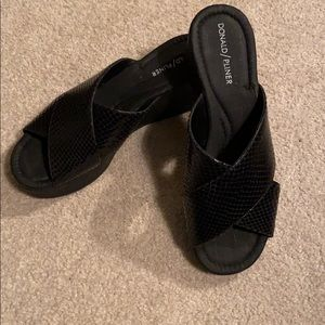 Brand new Donald/Pliner wedge sandals NEW